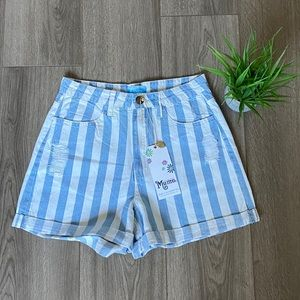 Show Me Your Mumu Raleigh Roll Up Short Size 26
